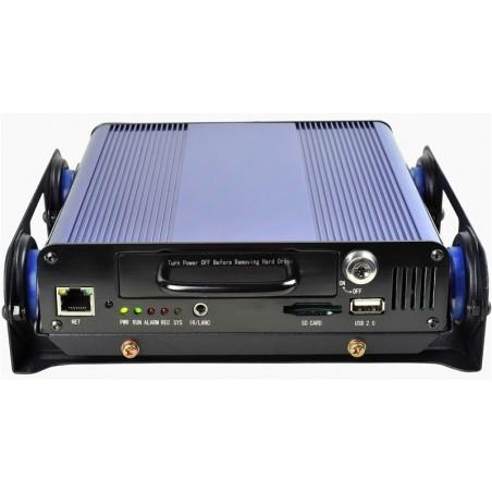 2 kanals Videooptager til analoge kameraer - DVR, vibrationsdæmper, egnet til køretøjer.
