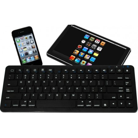 Svart mini tangentbors med Bluetooth till iPad - Nordic