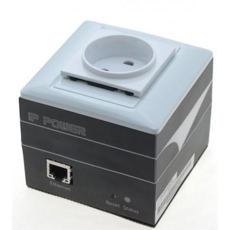 """På och avkoppling av utrustning via nätverket - """"IP ping Watch dog"""" till auto-reset, 230VAC - mäter strömförbrug och temperatur."""