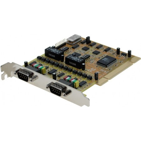 2 RS232-422-485 serielle porte till PCI
