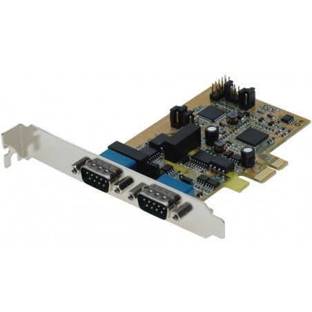 2 RS422-485 serielle porte till PCI Express