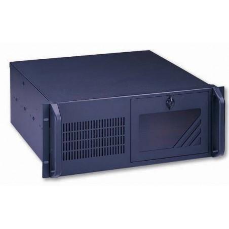 "4U 19"" dator chassi, ATX, svart, extra djup"