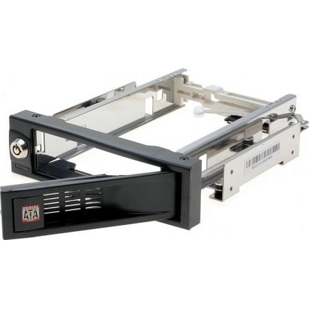SATA HDD ramme blæserløs svart