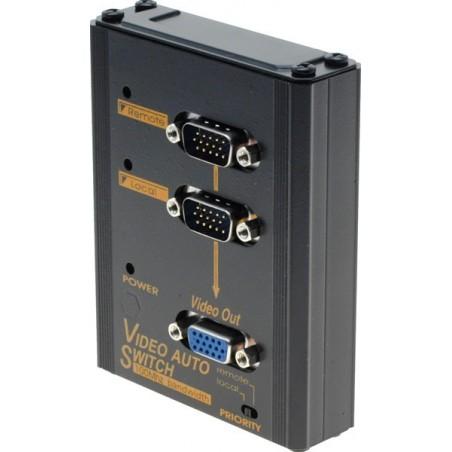 Autillomatillisk omskiftiller mellem 2 VGA signalkilder