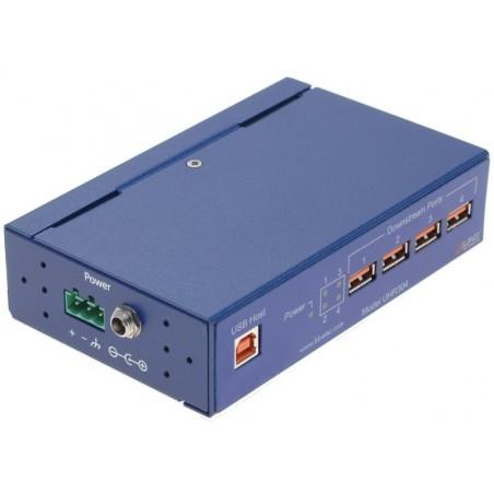 Optillisktill isolerad USB 1.1 HUB 4 portar