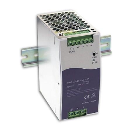 24-28VDC/5A nätaggregat, DIN-skena