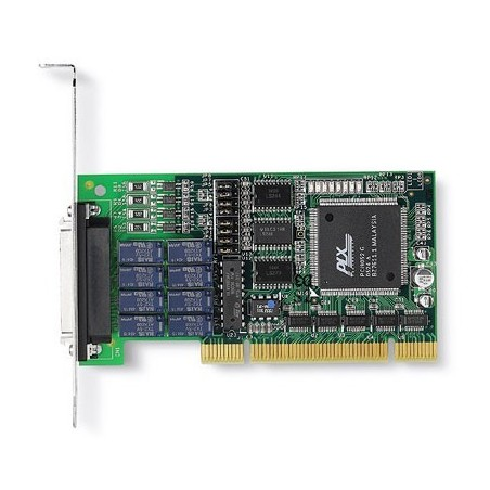 ADLINK LPCI-7250. 8 kanalers relæ output, 8 isolerede digitale input, PCI, Low Profile