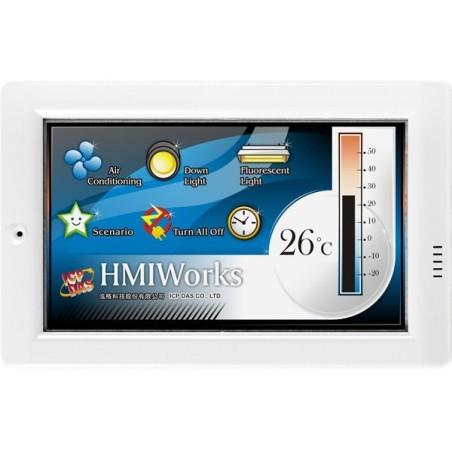 """Manöverpanel med 4,3 """"TFT-skärm, touch, nätillverk och RS485"""