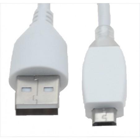 Micro USB-kabel för smartillphones 1, 2 meter