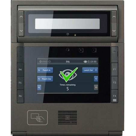 Tillgång och tillidsstyrning av iris scanner och RFID