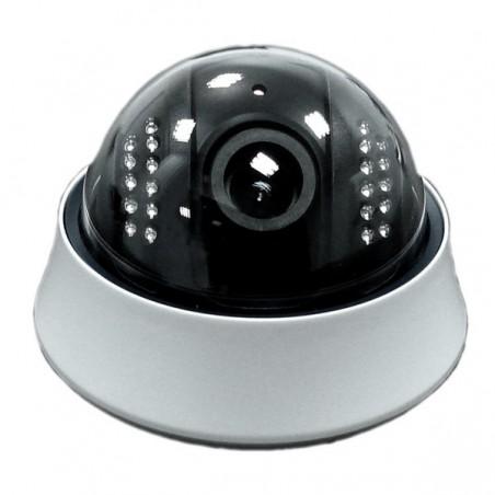 Inomhus PoE IP-domekamera 1.3MP IR, Ecoline