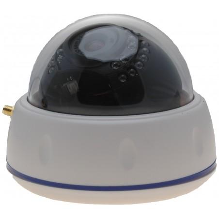 Inomhus IP PoE och tillrådlös Dome Camera 2MP IR, Ecoline