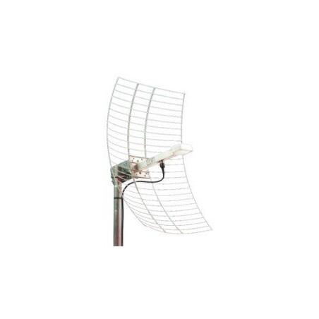 19 dBi 2,4GHz Parabol antenn, N hona, mast-fäste