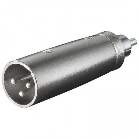XLR adapter 3-pin XLR jack hane - RCA hon