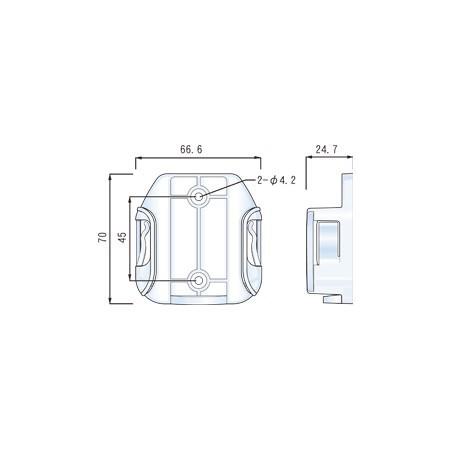 Väggfästille för LG-WL50X serie