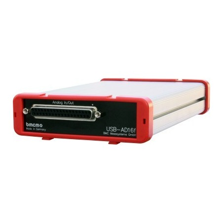 16 x spændiingsmåling via USB, 16bit opløsning, +/-10V, BMCM