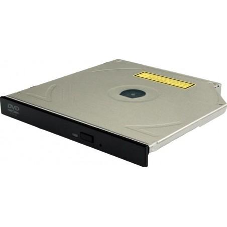 8x SLIM DVD - ROM-enhetill, SORT
