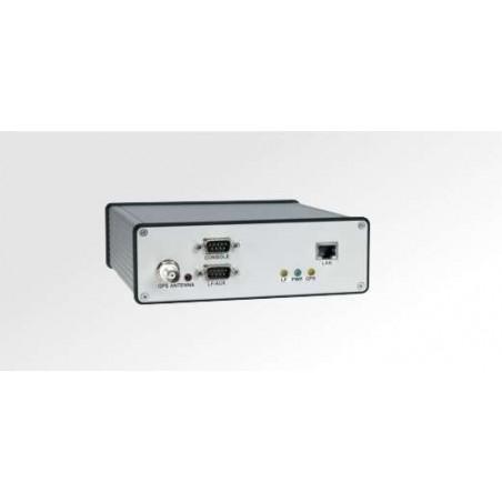 Exaktill tillid på servern via nätverk. DCF77 och GPS-mottagare för exaktill tillidtillagning på servrar