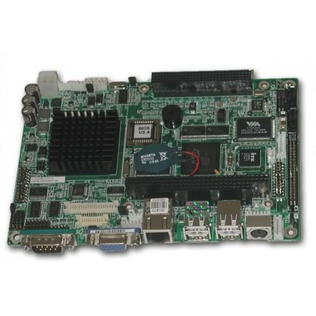 Embedded-moderkort med AMD Geode 500 MHz