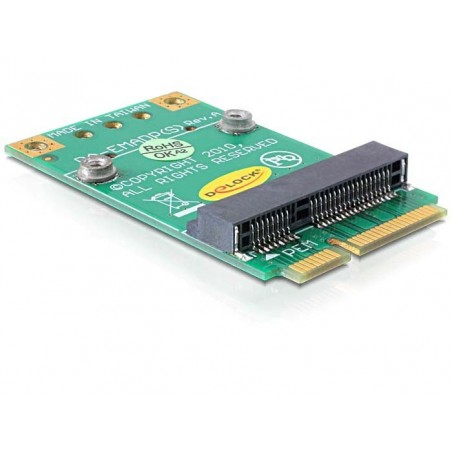 Mini PCIE till ½ mini PCIE omvandlare