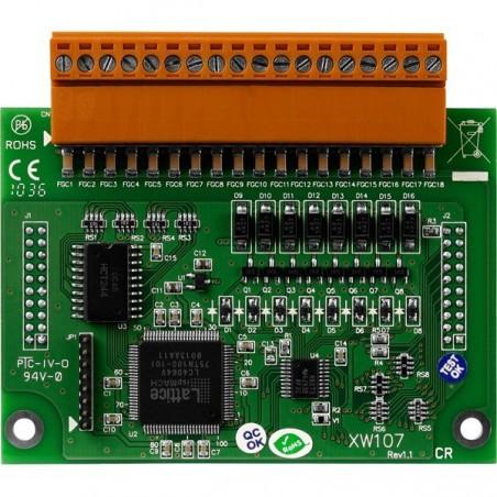 8 digitillala ingångar och utgångar Förlängnings moduler för L-CON-LOG serien