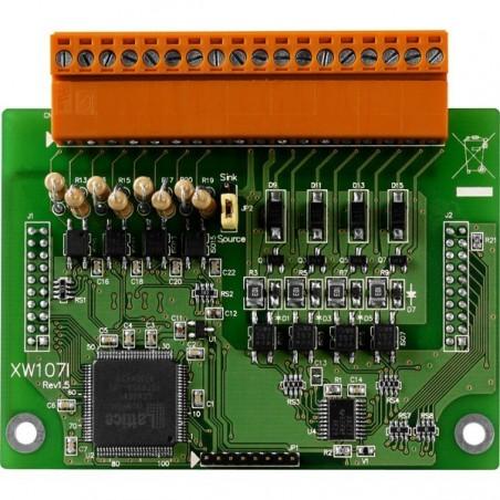 8 digitillala isolerade ingångar och utgångar Förlängnings moduler för L-CON-LOG serien
