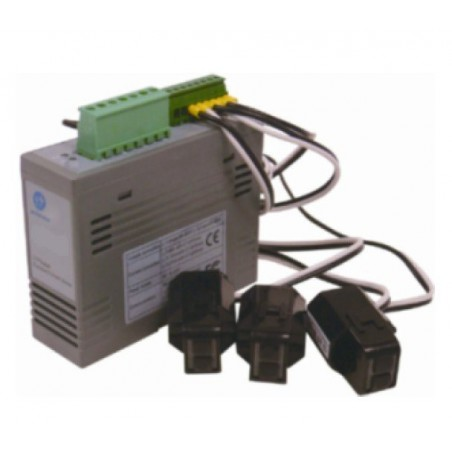 1 faset energimåler med MODBUS RTU (RS485 interface)