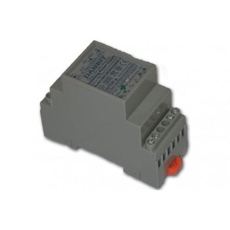 24VDC/400mA, DIN-skena, lineär