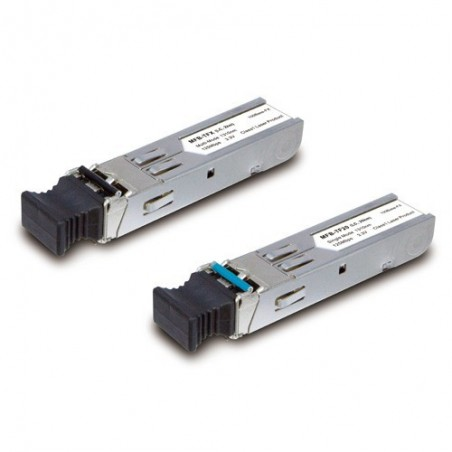 100Base -FX SFP tillransceiver , singelmod 20km