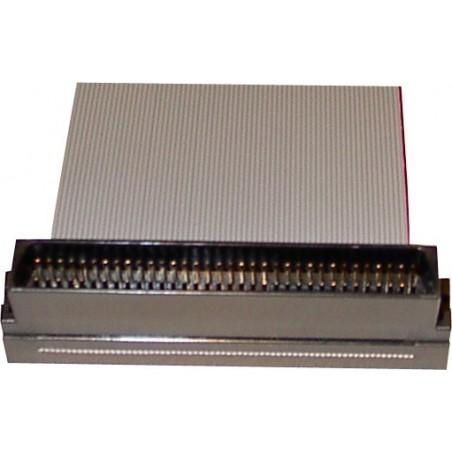 SCSI fladkabel, Mini DB68 hane, 4 kontakt, 1,20 m, rundtill