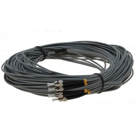 Fiberupptillisk kabel med flexibel rustillning tilllverkad av rostfritt stål - multilli ST 25m