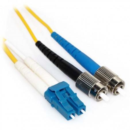 Singlemode fiber patillchkabel LC-FC, 9-125 μm, 20 meter
