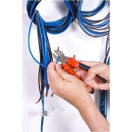 Montillering av kontillaktillerna på kablarna