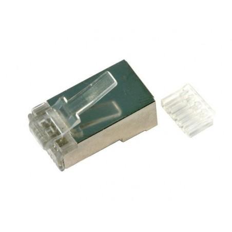 Skärmade RJ45-kontakter för CAT6 kabel