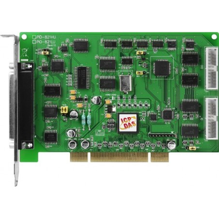 16 kanalers A/D dataopsamling, 12 bit, PCI. Stort måleområde: 5mV til 5V, op til 45 KHz