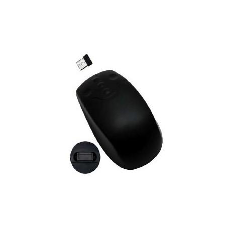Trådlös IP68 tät mus, Svart - RF (USB dongle)