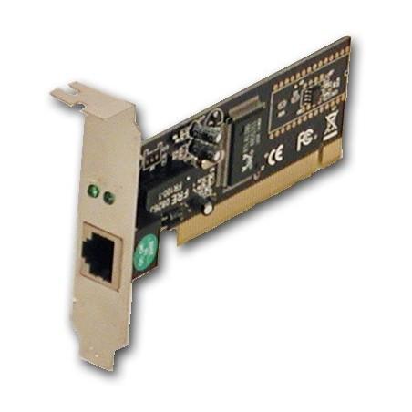 10 eller 100 Mbitill PCI netillkort,lo-pro