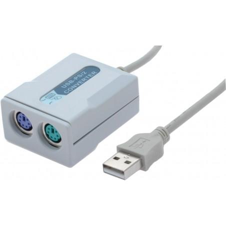 PS/2 mus / tangentbord till USB omvandlare