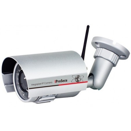 Utillomhus IP Wireless Bulletill kamera 2MP IR, High