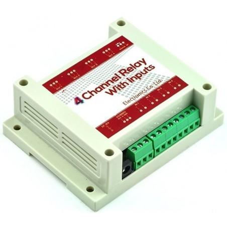 Box med 4 230 reläer för stillyrning via WiFi