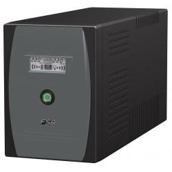 1500VA nødströmförsjörning Med LCD-displayen
