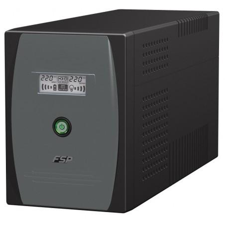 1500 VA nødstrømforsyning med LCD indikator
