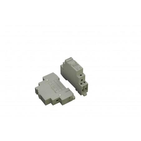 12 volt relä för 250VAC för DIN-skena
