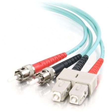 Fiberoptisk LSZH kabel - SC / ST 50/125 um OM3 - multilli 10 m