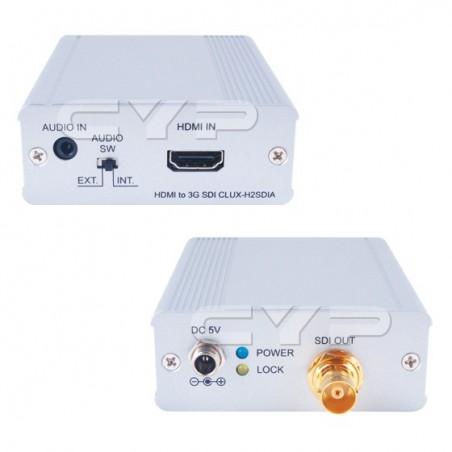 HDMI till 3G-SDI video konvertiller Med Audio
