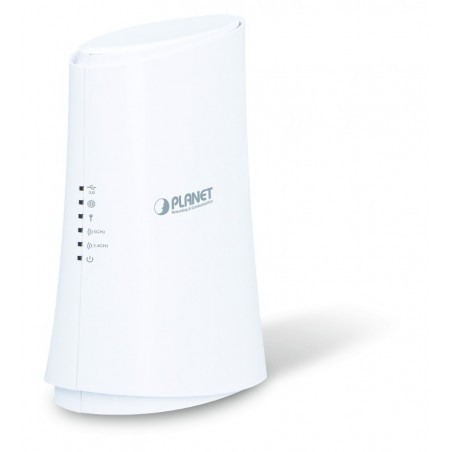 867 Mbit Dual Band WiFi Router med 4 Gigabit LAN och USB