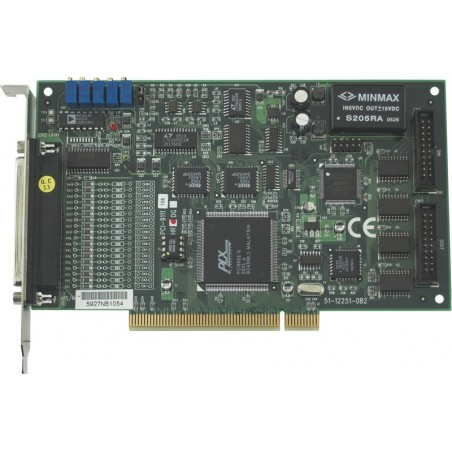 16 kanals A/D DAQ 12 bit, 16 D/I och DO, PCI