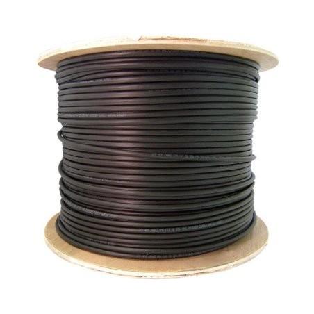 Förstillärktill fiberkabel DX SC multilli 62,5 / 125, Black 500 meter