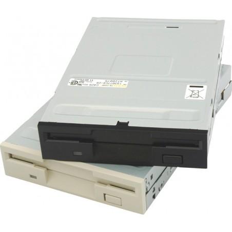 """Floppy disk drev 3½"""" 720K/1,44Mb, vit diskette drev TEAC FD235HFC810"""