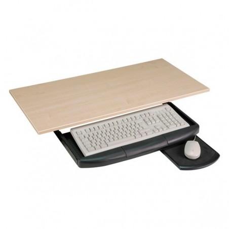 Svart tangentbord hållare inkl. musmatilltilla